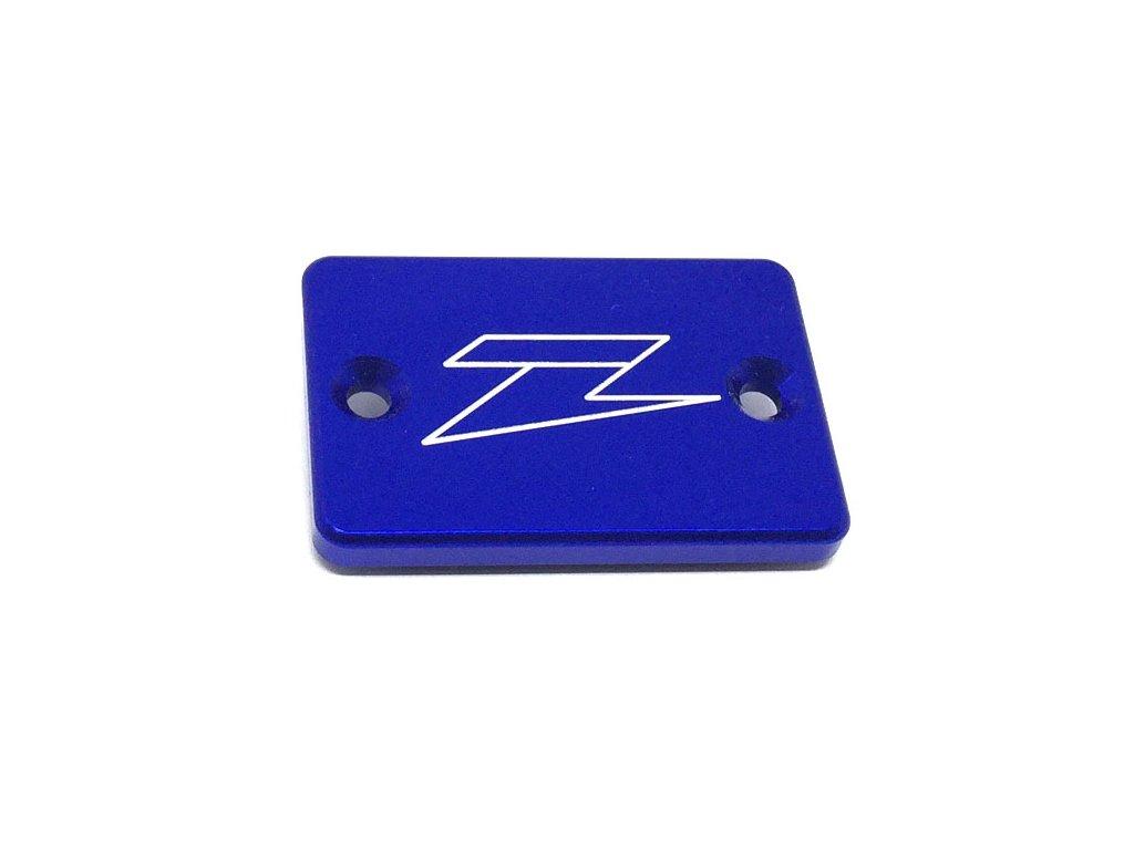 ZETA Víčko nádobky prednej brzdy XR/DRZ/KLX/CRF250L Blue