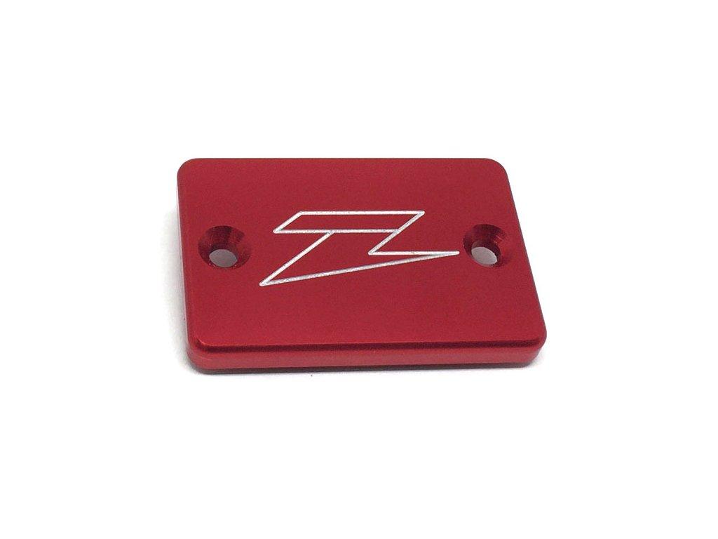 ZETA Víčko nádobky prednej brzdy XR/DRZ/KLX/CRF250L Red
