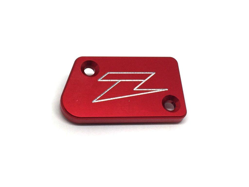 ZETA Víčko nádobky prednej brzdy YZ250F'07-, YZ/YZF'08- Red