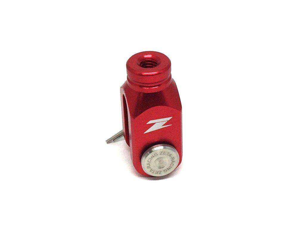 ZETA Vidlička zadnej brz.pumpy CR/CRF červená
