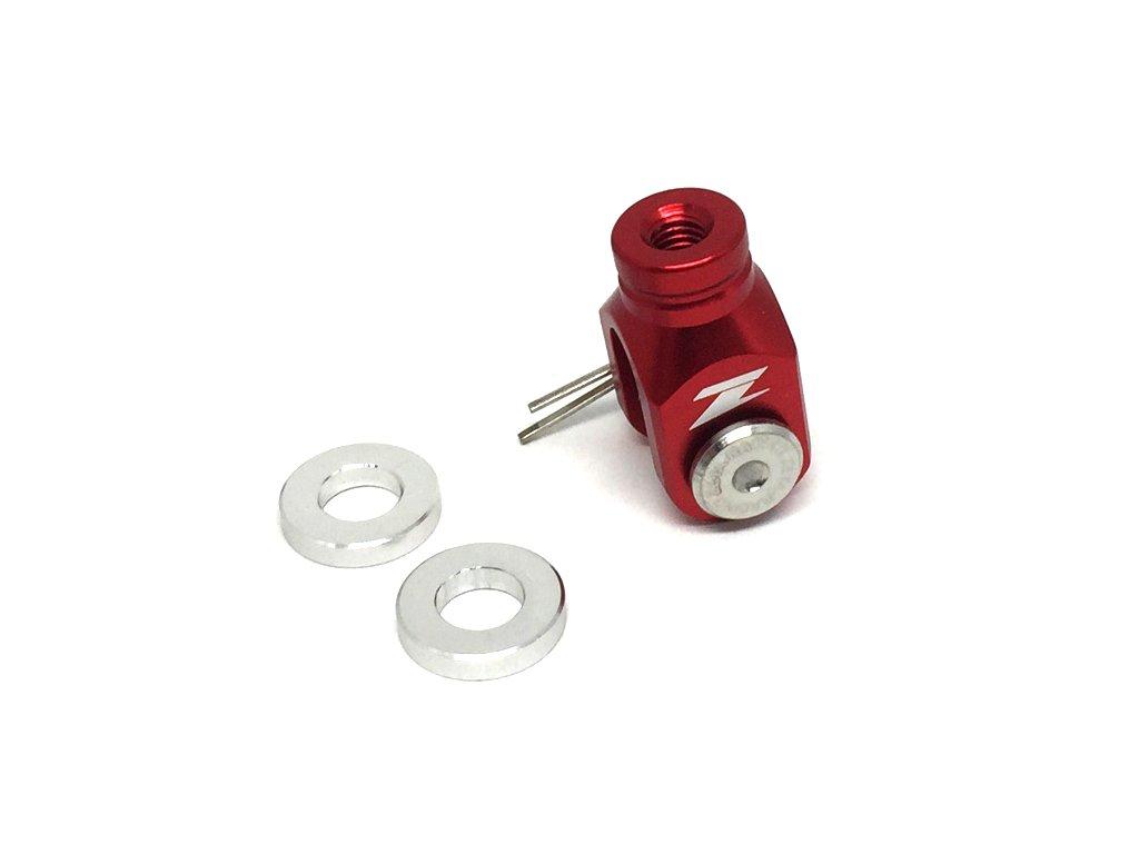 ZETA Vidlička zadnej brz.pumpy WR250R/X'07- červená