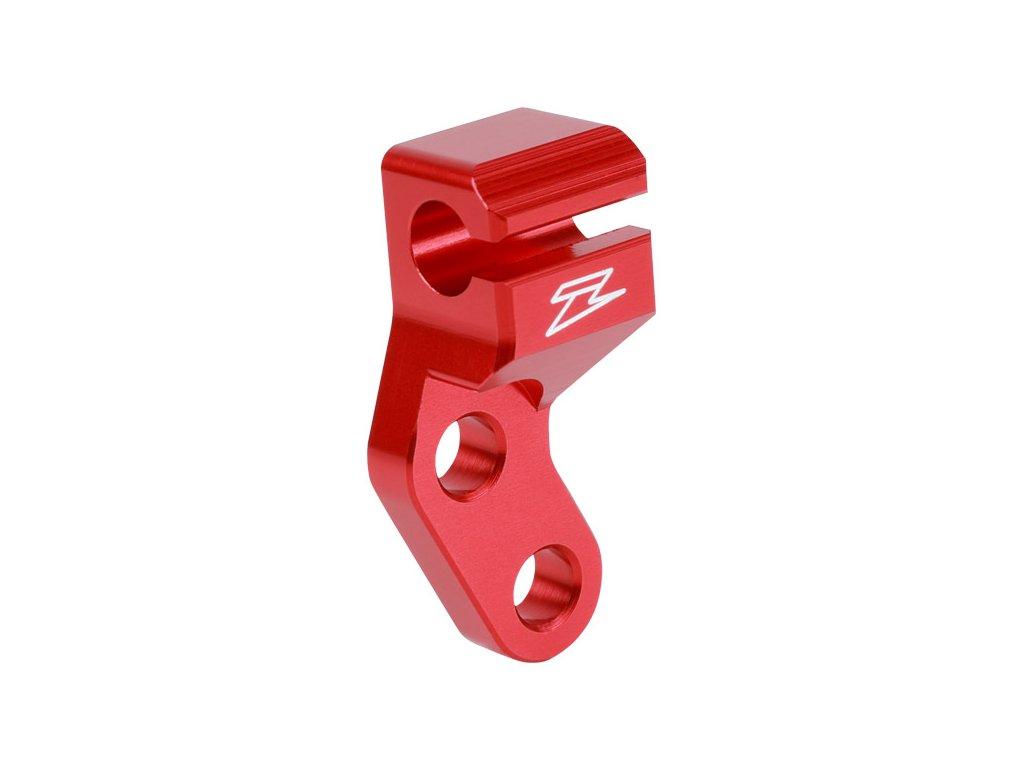 ZETA Vodítko spojkového lanka KLX250/D-Tracker '98- Červené