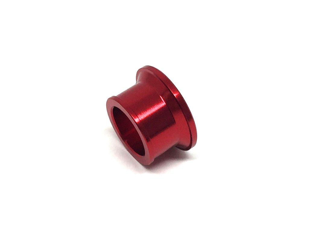 ZETA Vymedzovacie podložky Predné KLX250'08- Červené