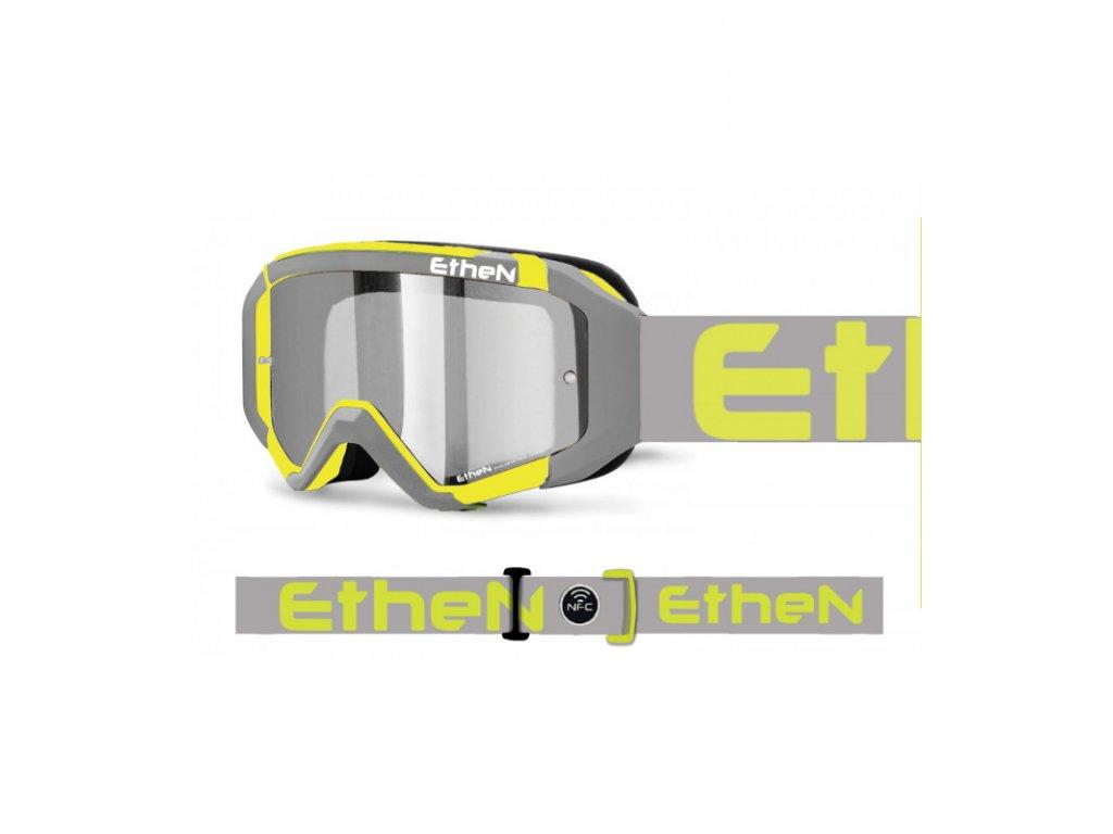 MX05R 0591 MX okuliare ŠEDO - FLUO so zrkadlovým sklom