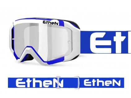 05 PRIMIS 0583 MX okuliare bielo - modré s čírím sklom