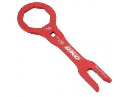 DRC Kľúč PRO na prednú vidlicu SHOWA 50mm červený
