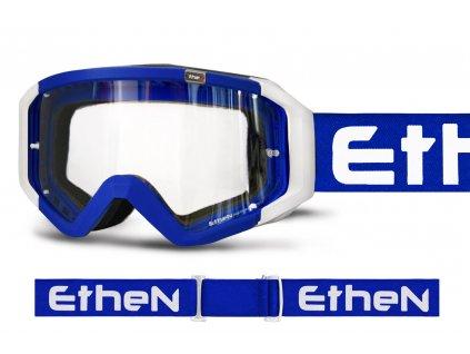 MX05 BASIC 0527 MX okuliare MODRÉ s čírým sklom