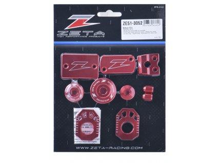 ZETA ALU sada skrutiek a doplnkov CRF250L/M '12- Červená