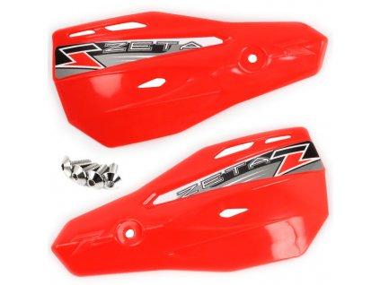 ZETA Armor-X2 kryty rúk CR-červené