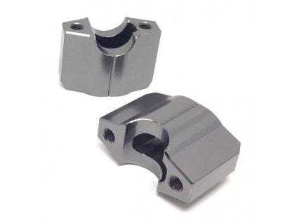 ZETA Držiak riadidiel COMP 22,2mm, 2ks, výška:40mm