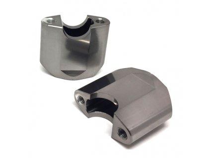 ZETA Držiak riadidiel COMP 22,2mm, 2ks, výška:50mm