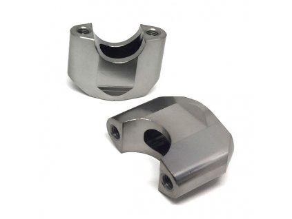 ZETA Držiak riadidiel SX 28,6mm, 2ks, výška::50mm