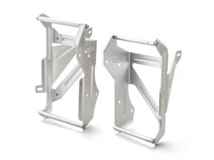 ZETA Hliníkové výstuhy-kryty chladičov CRF250L'12-