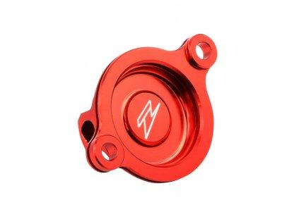 ZETA kryt olejového filtra CRF250R'18- červený