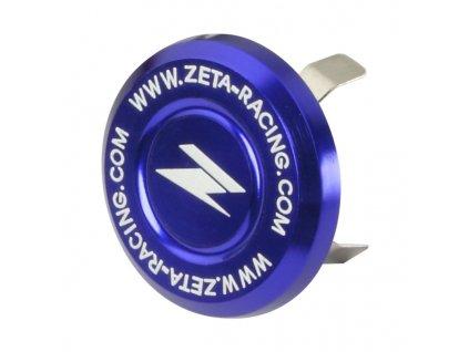ZETA Krytka matice krku riadenia13-17.5mm modrá