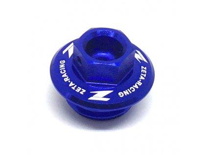 ZETA Olejová zátka motora CR/CRF/CRF250L,YZ/YZF/WRF, KLX modrá