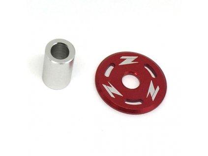 ZETA Podložka pod skrutku nádrže CR/CRF,YZ250F'10- červená