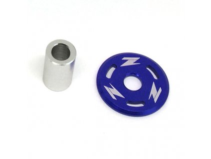 ZETA Podložka pod skrutku nádrže CR/CRF,YZ250F'10- modrá