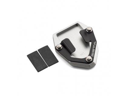 ZETA Rozšírovacia podložka bočného stojanu čierno/strieborná CRF1000L/ADV'16-