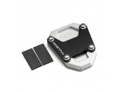 ZETA Rozšírovacia podložka bočného stojanu čierno/strieborná CRF1100L'20-