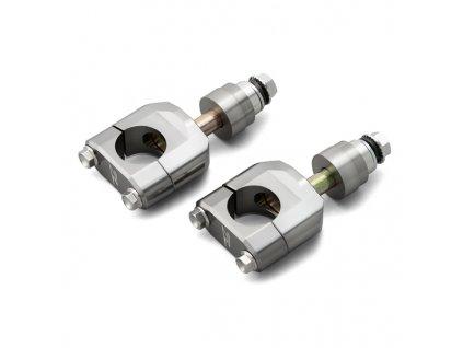 ZETA RX2-držiak riadidiel KIT KLX230/R '20-, WR250R/X '07-