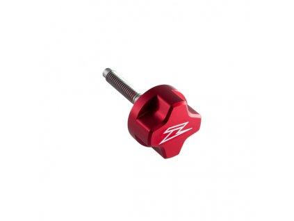 ZETA Skrutka klietky vzduchového filtra ALU červená dlžka : 35mm