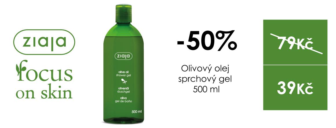 Oliovový sprchový gel