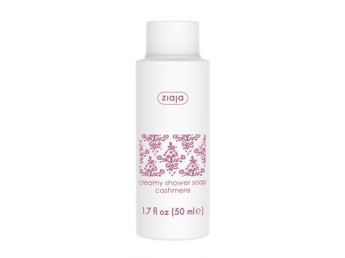 Krémové mýdlo s proteiny kašmíru