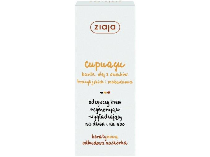 Ziaja Cupuacu regenerační vyhlazující pleťový krém na den a noc 50ml