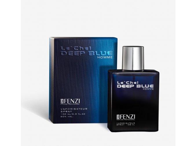JFenzi Le' Chel Deep Blue parfémovaná voda 100 ml