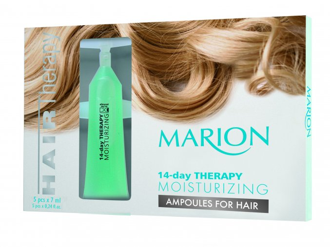 Marion Ampulky Na Vlasy 14-Denní Hydratační Terapie  5x7ml