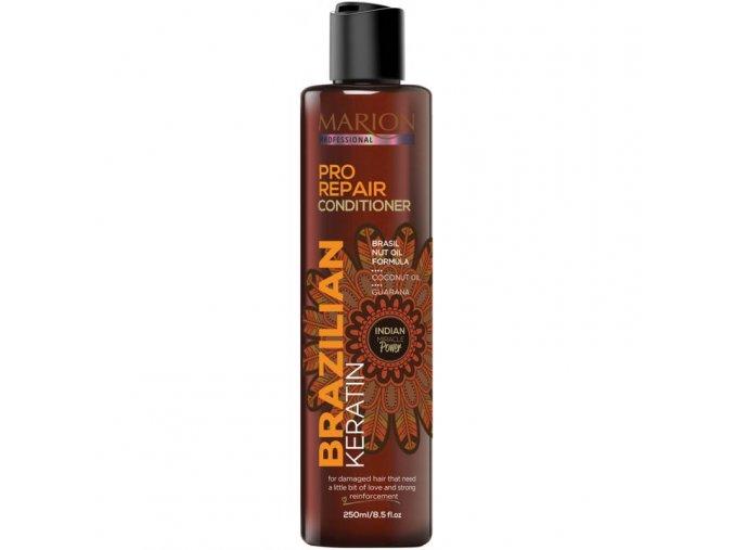 marion brazilsky keratin pro repair kondicioner pro poskozene vlasy 250 ml