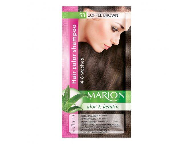 marion tónovací šampon 53 coffee brown