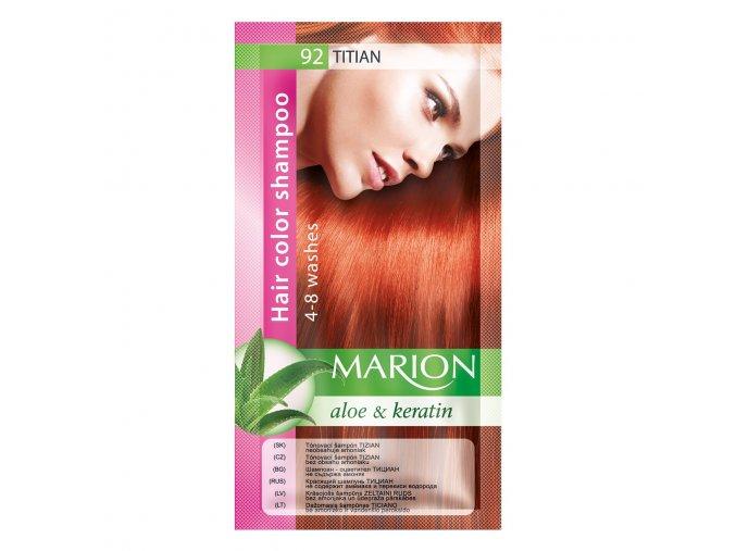 marion tónovací šampon 92 titian