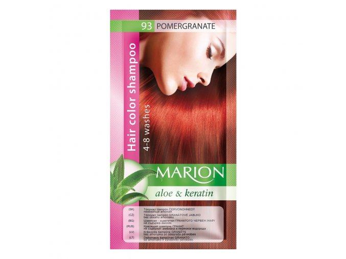 marion tónovací šampon 93 pomegranate
