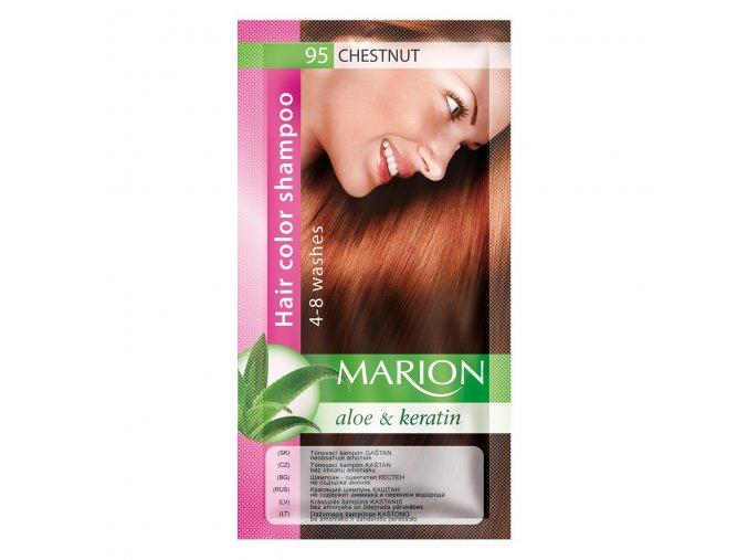 marion tónovací šampon 95 chesnut