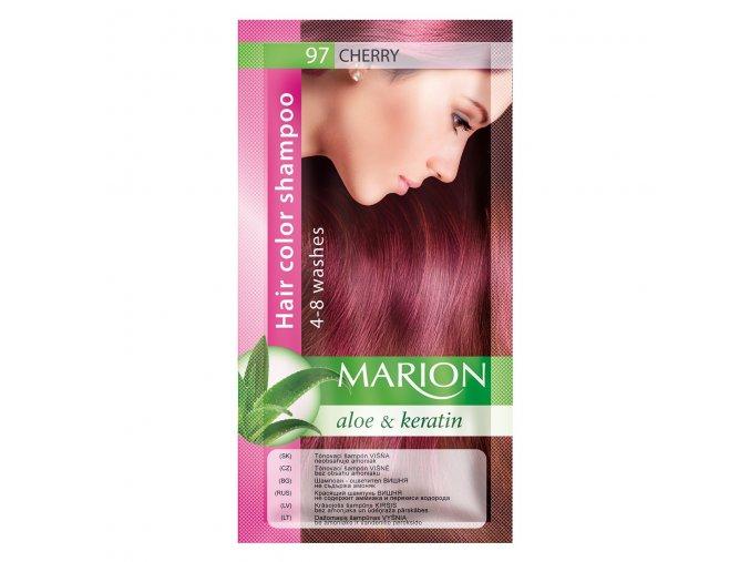 marion tónovací šampon 97 cherry