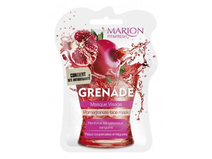 Marion Pleťová Maska Z Granátového Jablka 7,5 ml