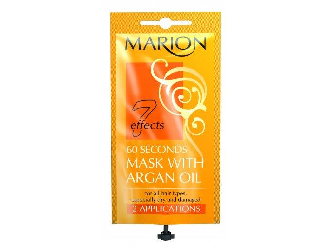 Marion Šedesátisekundová Maska S Arganovým Olejem 15ml