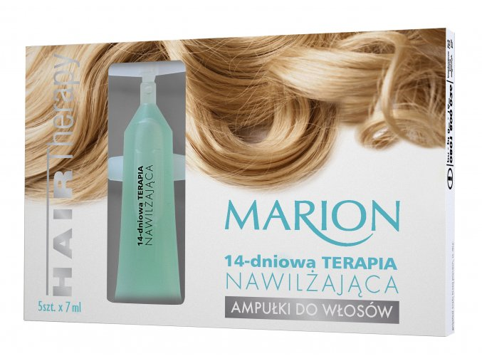 Marion Ampulky Na Vlasy: 14-Denní Posilující Péče 5x7ml.