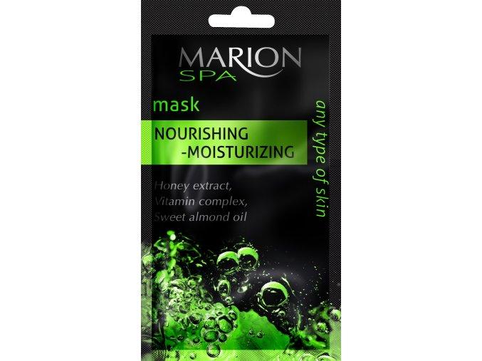 Marion Spa Pleťová Maska Vyživující Zvlhčující  7,5ml