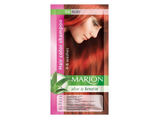 marion tónovací šampon 94 ruby