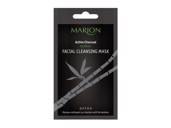 Marion Pleťová Čistící Maska S Bambusovým Aktivním Uhlím 10g