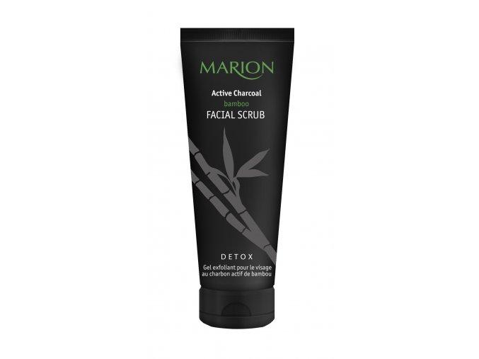 Marion Pleťový Peeling S Aktivním Bambusovým Uhlím 75 ml
