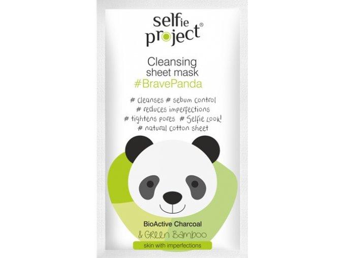 selfie project   čisticí textilní maska bravepanda 15 ml
