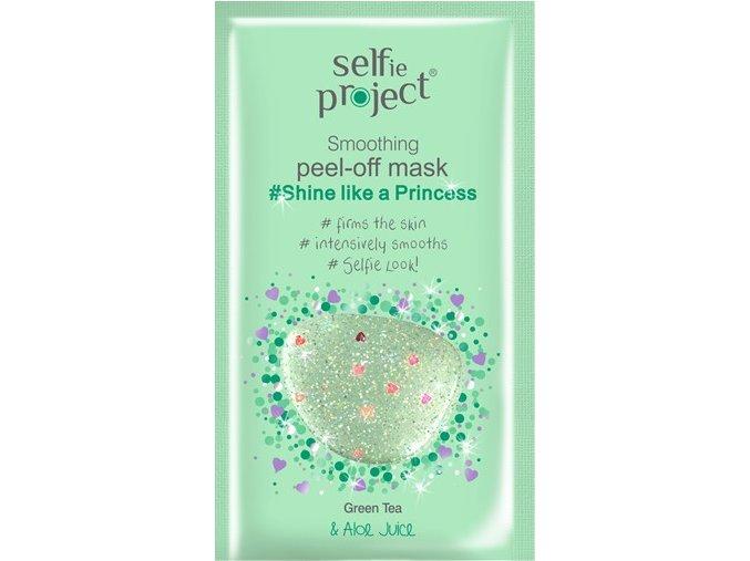 selfie project  vyhlazující slupovací maskaPrincezna zářivá jako princezna 12 ml
