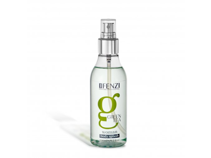 jfenzi body splash green tea 200 ml