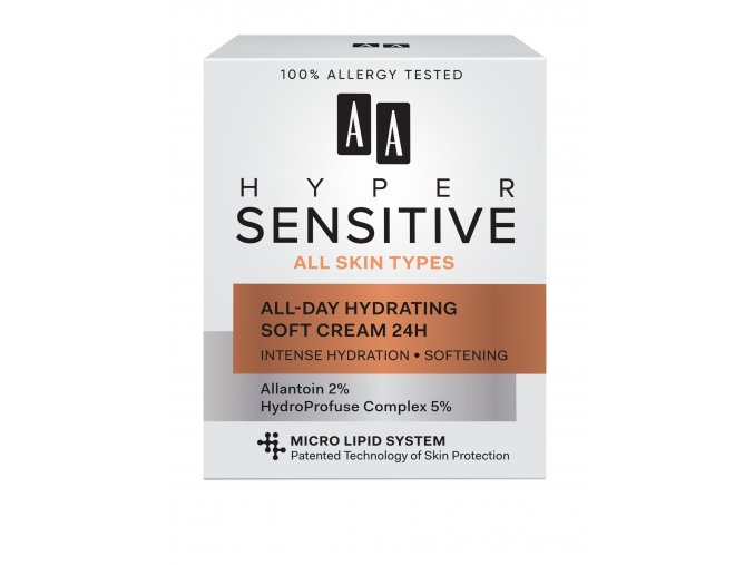 AA AA Hypersensitive All Day Hydrating Soft Cream
