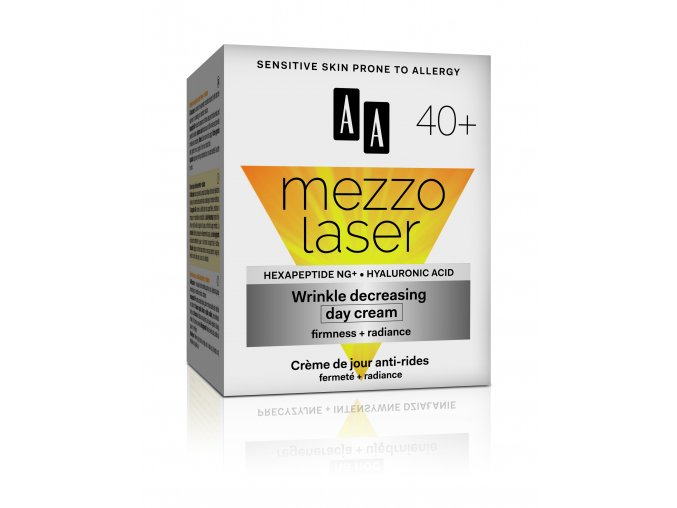 AA MEZZOLASER 40+ day cream box
