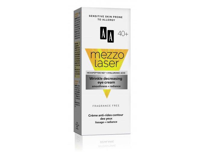 AA MEZZOLASER 40+ eye cream box